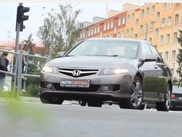 Video: Test Honda Accord 2.2i CTDi