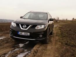Test: Nissan X-Trail - změna orientace
