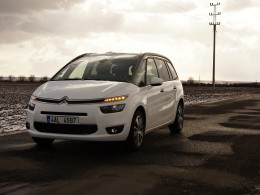 Test: Citroën Grand C4 Picasso 2.0 BlueHDi AT