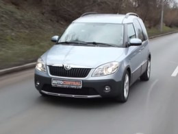 Je snad Škoda Roomster Scout 1.2TSI auto do terénu, má pohon 4x4?