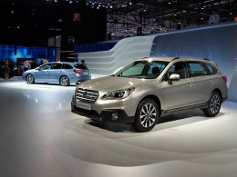 Ženevský autosalon 2015 - Subaru Levorq a Volvo XC90