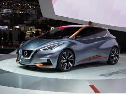 Ženevský autosalon 2015 - Nissan SWAY předobrazem nové Micry