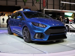 Ženevský autosalon 2015 - Ford Focus RS, Focus ST a Ford GT