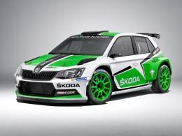 Nová Škoda Fabia R 5 v továrních barvách + kalendář akcí