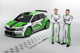 �koda Fabia R5 se uk�e na Rally �umava Klatovy