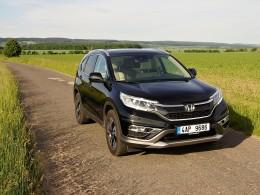 Test: Honda CR-V 1.6 i-DTEC - silniční SUVerén