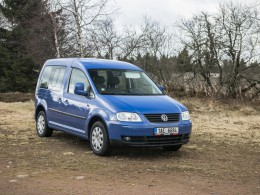Test ojetiny: Volkswagen Caddy Life 1.9 TDI PD (rok 2009)