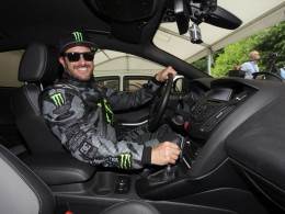 Ken Block přestavil Focus RS na Festivalu rychlosti v Goodwoodu