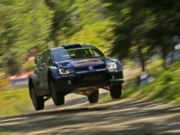 Jari-Matti Latvala vyhr�l s Volkswagenem dom�c� Rallye Finsko