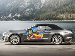 Nový Ford Mustang dostal kolenní airbag spolujezdce