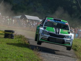 Barum Rally 2015: Jan Kopeck� na Fabii R5 �ampionem M�R