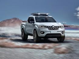 Renault Alaskan - koncept nového užitkového pick-upu