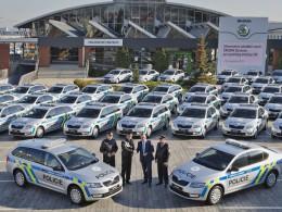 Policie ČR nakupovala, v jejích barvách se objeví 477 speciálních Octavií