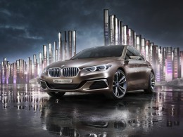 BMW Concept Compact Sedan - předobraz modelu BMW 1 sedan