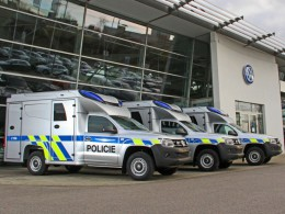 Kriminalistům bude sloužit 41 vozidel Volkswagen Amarok