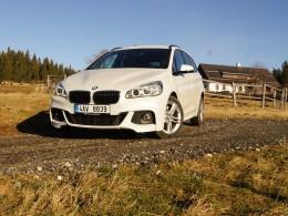 Test: BMW 220i Grand Tourer - předsudky stranou, dokáže překvapit