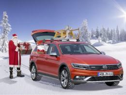Santa Claus letos řídí Volkswagen Passat Alltrack