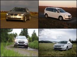 Šest nejčtenějších testů ojetých automobilů za rok 2015