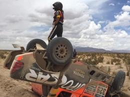 �tvrt� etapa  na Rallye Dakar se jela cel�