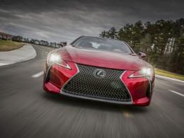 Lexus LC500 - prémiové kupé oficiálně odhaleno