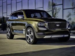Koncept Kia Telluride - luxusní hybridní SUV sleduje zdravotní stav cestujících