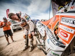 Češi na Dakaru - David Pabiška závodil již po desáté