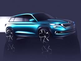 Škoda Kodiaq se ukáže v Ženevě jako VisionS