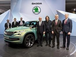Ženevský autosalon 2016 živě - Škoda Vision S se povedla