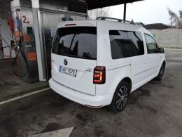 Volkswagen Caddy TGI na zemní plyn umí kilometr za 0,85 Kč