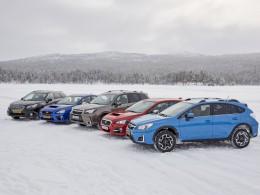Subaru Snow Drive 2016 - z�bava za volantem �ty�kolek