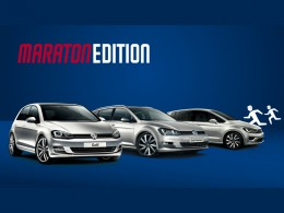 Volkswagen Maraton Edition pro up!, Polo, Golf, Golf Variant a Golf Sportsvan