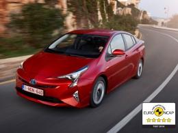 Nová Toyota Prius získala 5 hvězd v Euro NCAP