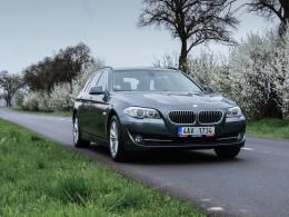 Test ojetiny: BMW 520d – mnichovský kliďas