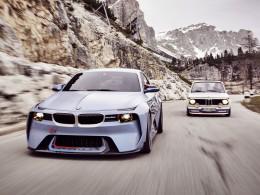 Nový koncept Hommage vzdává holt vozu BMW 2002 Turbo