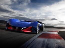 Peugeot L500 R HYbrid - koncept závodního vozu