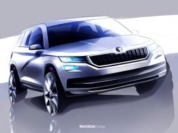Nový model Škoda Kodiaq na oficiálních skicách a rozhovor s Jozefem Kabaněm