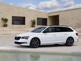 Přijíždí nová Škoda Superb SportLine