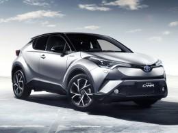 Nový crossover Toyota C-HR je téměř stejný jako koncept