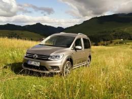 Test: Volkswagen Caddy Alltrack - užitkáč v luxusním balení