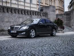 Test ojetiny: Mercedes-Benz S 500 – Král