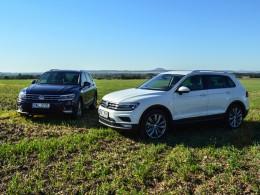 Srovn�vac� test Volkswagenu Tiguan: TDI proti TSI