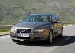 Nová hnací ústrojí pro Volvo S80: Motor T6 turbo a dieselový motor D5 s pohonem všech kol AWD