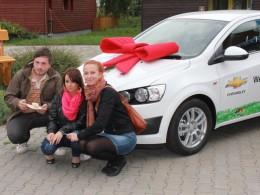 Stovka Chevroletů pro SOS vesničky