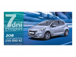 "Akce ""7 dn� Peugeot"" je tady"