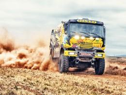 Porouchané brzdy nezastavily Martina Macíka na Baja Aragon