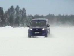 Arktický test dodávek vyhrál Ford (+video)