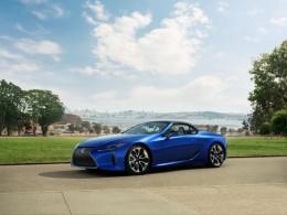 Atraktivní Lexus LC 500 Convertible byl oficiálně představen na autosalonu v Los Angeles