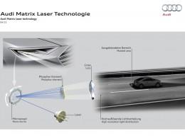 Audi zv�t�uje sv�j n�skok technologi� Matrix Laser s vysok�m rozli�en�m