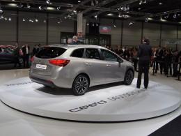 Autosalon Lipsko - Hyundai i30 CW, Kia Cee´d SW a Dacia Lodgy