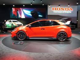 AUTOSALON ŽENEVA 2014 - Honda Civic Type R dostane přeplňovaný dvoulitr